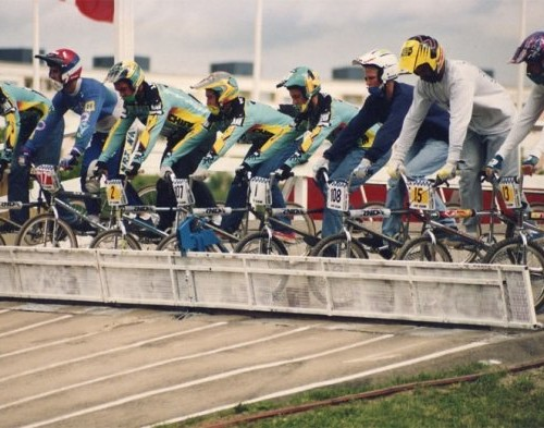 1993 - EUROPE SUEDE - FRENCH TEAM ON THE GATE