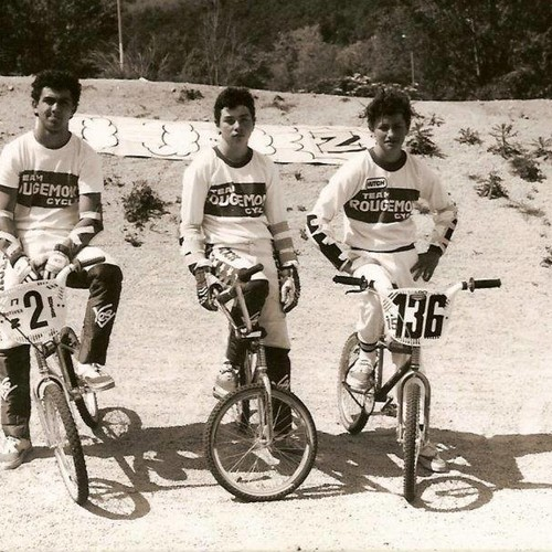1986 - TEAM ROUGEMONT CYCLES