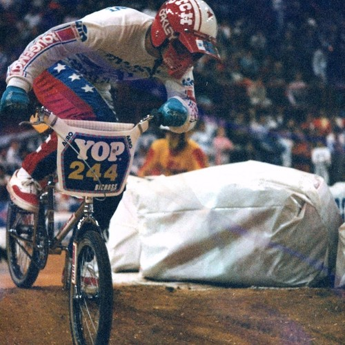 1985 - INDOOR BMX INTERNATIONAL - BERCY 2