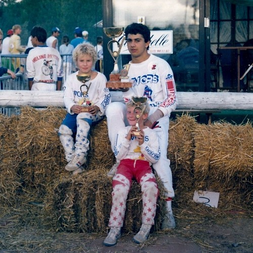1985 - CHAMPIONNATS DE FRANCE BMX JUNIOR