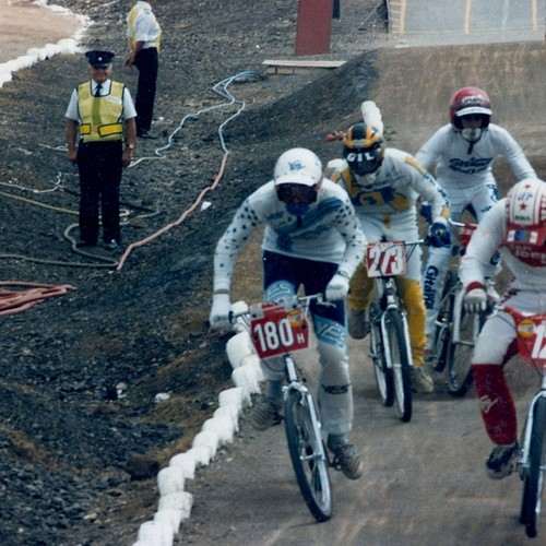 1986 BMX WORLD CHAMPIONSHIP - SLOUGH - GB