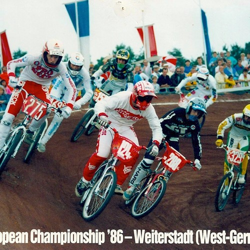 1986 BMX EUROPEAN CHAMPIONSHIP - WEITERSTADT - GERMANY