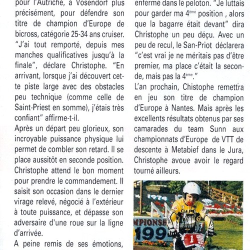 1994 ARTICLE COULEURS