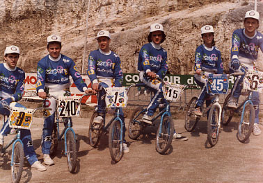 ZERONINE FRENCH TEAM 1988